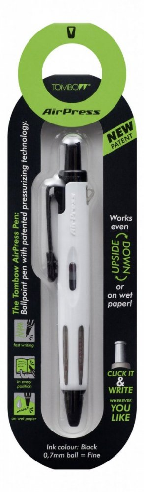Tombow Kemijska olovka AirPress Pen bijela