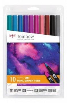 Tombow Set obostranih flomastera ABT Dual Brush Pen – Galaxy colors, 10 kom.