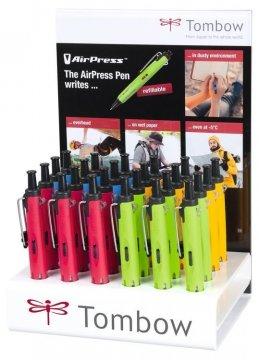 Tombow Kemijska olovka AirPress Penn, display 24 kom., Outdoor colors