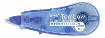Tombow Korektor u traci MONO CCE, prozirno plava