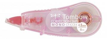 Tombow Korektor u traci MONO CCE, prozirno ružičasta