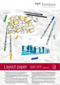 Tombow Blok za skiciranje Layout Paper A4