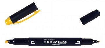 Tombow Signir MONO edge, golden yellow