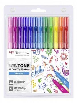 Tombow Set obostranih flomastera TwinTone, Rainbow